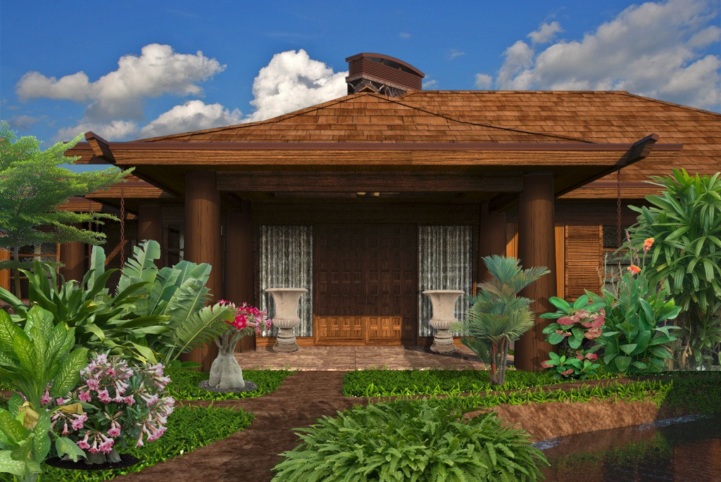 Hawaiian home designs for Home plans hawaii