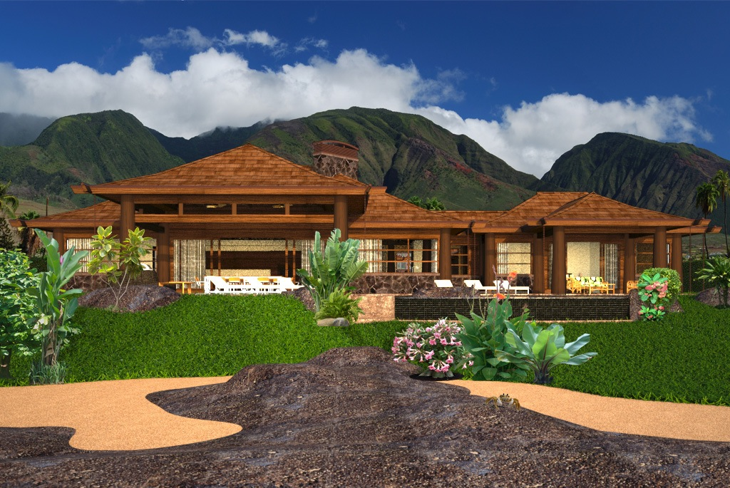 Oceanfront home hawaii jeremy newell design for Home plans hawaii