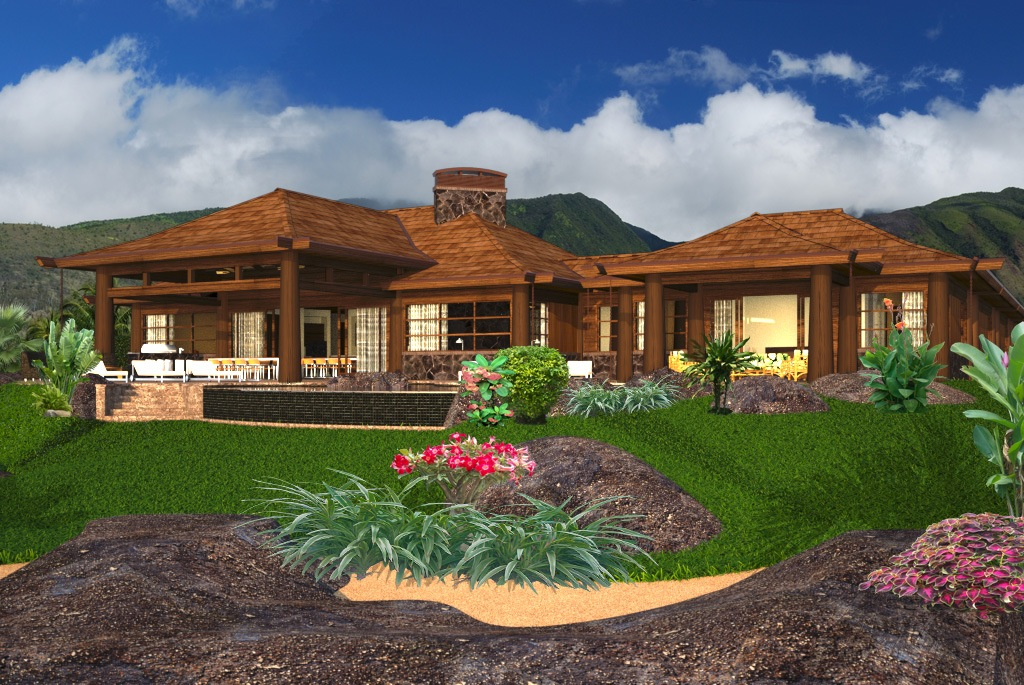 hawaiian home designs