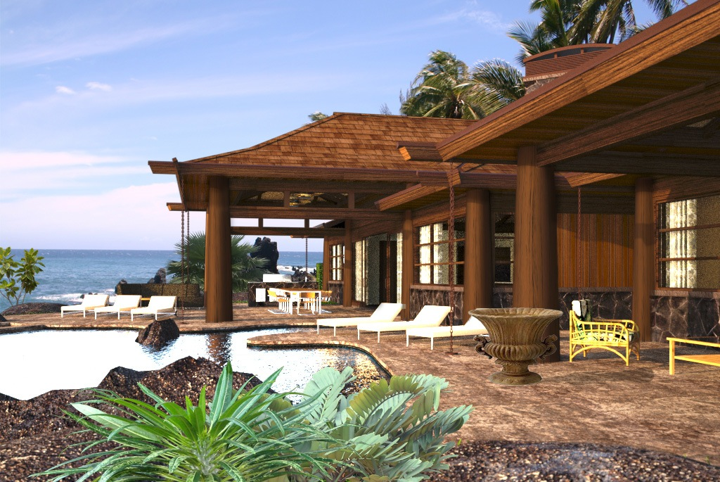 Luxury home designs residential designer for Aloha package homes