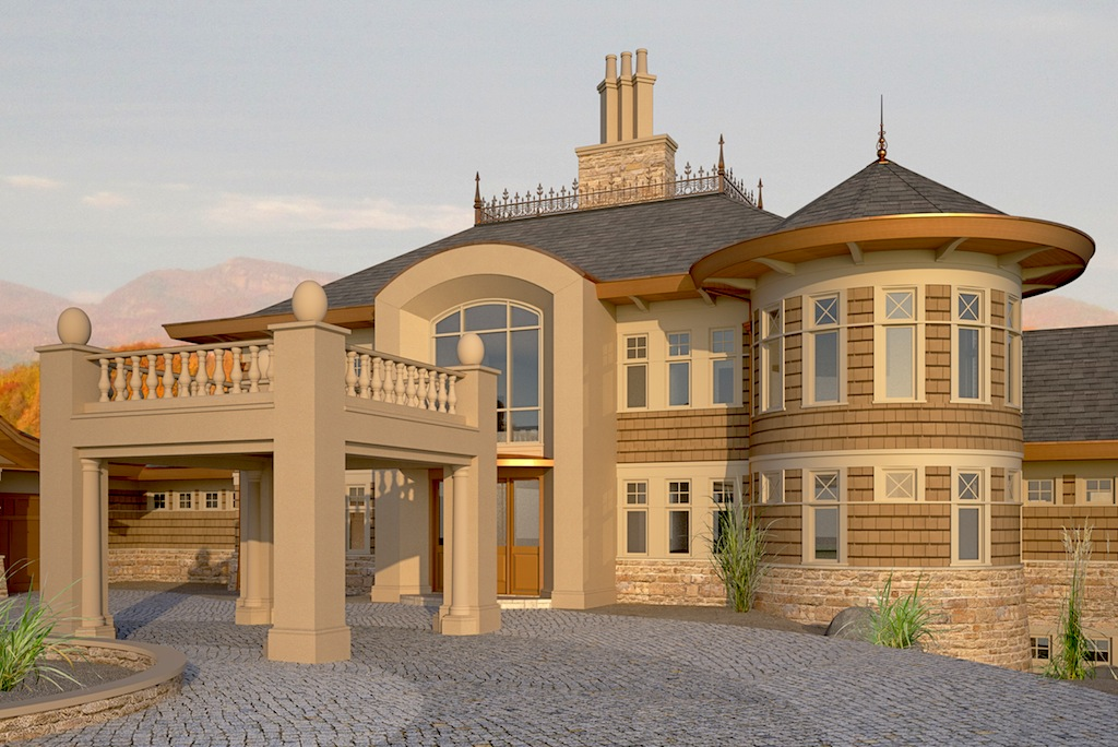 Luxury estate home toronto jeremy newell design for Luxury style house plans