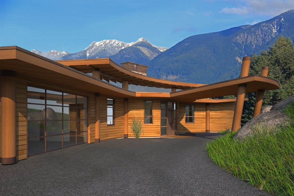 West Vancouver, Oceanfront, Post U0026 Beam Home Design, West Coast  Contemporary,